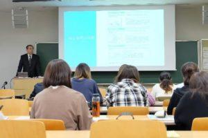 三幸自動車町田社長が大学で講義